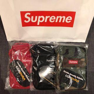 🚚 Supreme Utility Pouch - Camo, Black, Red