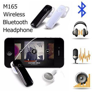 Clear audio M165 bluetooth headset with mic