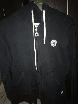 hoodie zipper converse