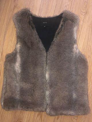 Talula - Aritzia Fur Vest