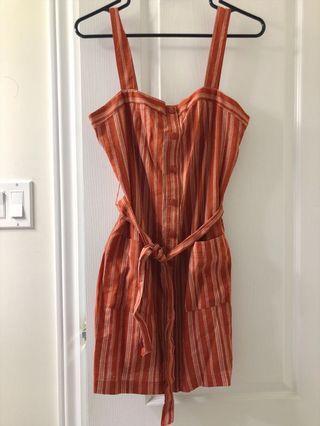 NWT STRIPED SUMMER DRESS