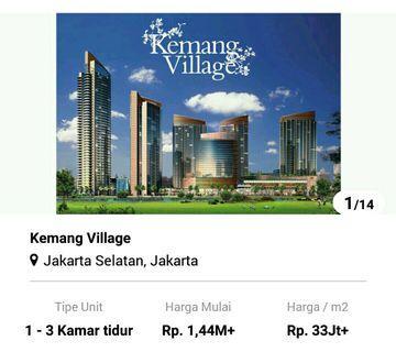 Apartemen Kemang Village jaksel