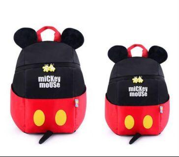 🚚 ❇️Mickey Mouse Backpack Tail Sticking Out