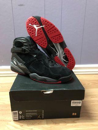 Brand New Jordan 8 Black