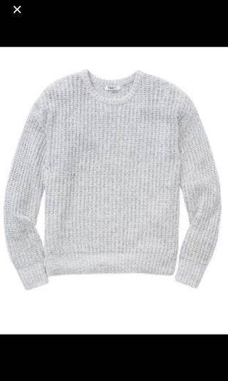 TNA light grey sweater
