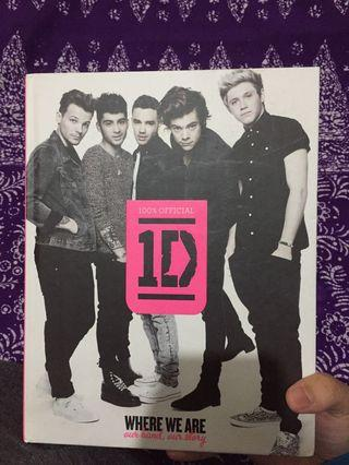 One Direction WHERE WE ARE BOOK (100% AUTHENTIC  ❤️)
