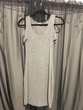 Garage off shoulder dress