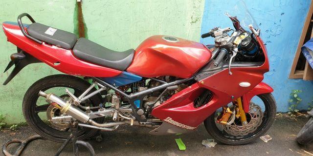 Kawasaki ninja krr 150 cc tahun 2008