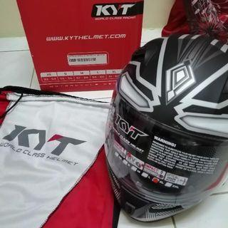 NEW HELMET KYT K2 RIDER BLACK PANTHER (LIMITED EDITION)
