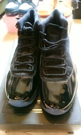 Air Jordan 11 Cap & Gown us11.5