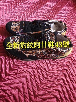 43號全新豹紋阿甘鞋