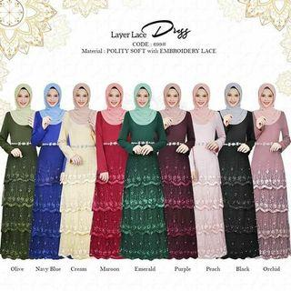 Layer lace dress