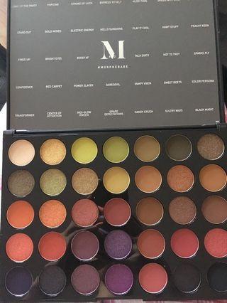 Morphe 35M boss mood palette