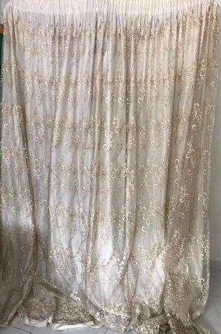 [HARI RAYA SPECIAL!] Ivory Stone Works Curtain