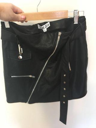 I.AM.GIA Leather Skirt