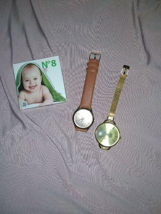 Bundling jam tangan (bonus softlense)