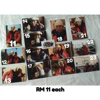 BANG YONGGUK X LIPSS PHOTOGRAPH (Post Size) [OFFICIAL]