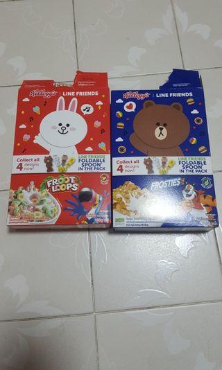 Kellogg Cereal x 18 boxes