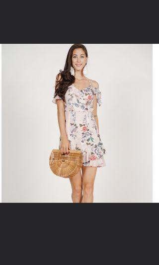 [MDS] Frill Cami Dress in Blush Floral