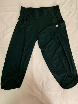Adidas Climalite Capri Training Pants Size S