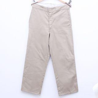 Size 33 DICKIES Work Pants in Birch Color