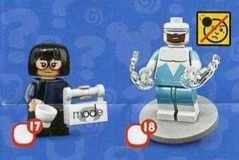 Lego disney series 2 人仔 no 17 18 超人特工隊