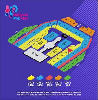 [WTS] HALLYUPOPFEST DAY 1 CAT 2 SECTION 212