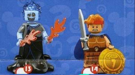 Lego disney series 2 迪士尼人仔 no. 13 14 大力士 哈迪斯 Hades