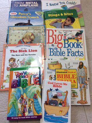 🚚 Bible and children books