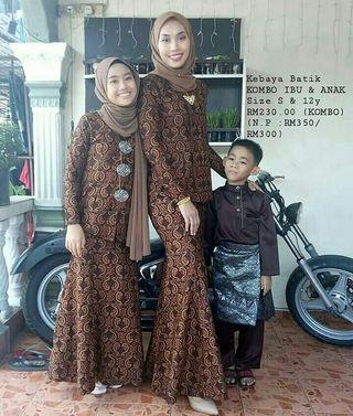 kurung batik