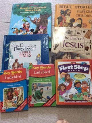 🚚 Bible and children book