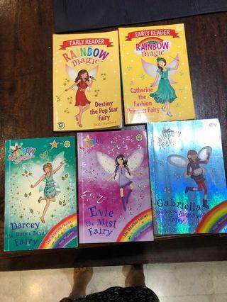 🚚 Rainbow magic x 3 books