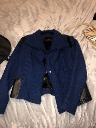 Lime Blue jacket