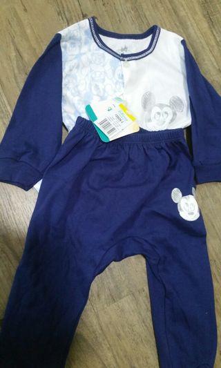 BNWT Disney Mickey Mouse pajamas (3-6mo)