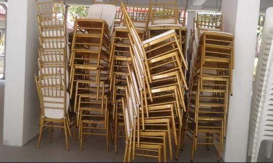 TIFFANY CHAIRS FOR RENT