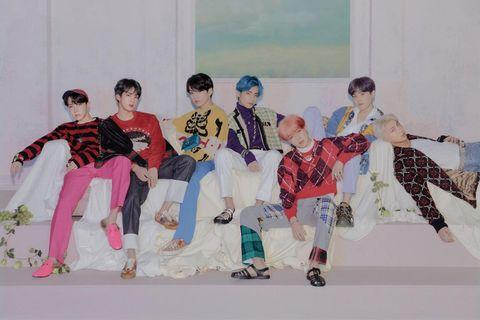 [WTS] BTS MAP OF THE SOUL PERSONA VER.4 POSTER & PO BENEFIT
