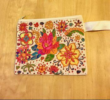 New Hand painted design cosmetic bag