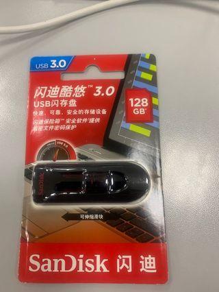 sandisk 128G USB 3.0 drive
