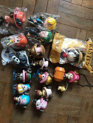 🚚 Lot of One Piece Figurines