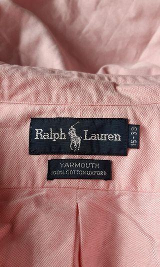 genuine made in HK Polo Ralph Lauren shirt
