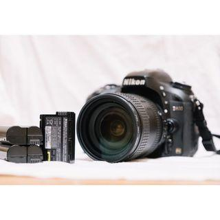 Nikon D600 Body with 3 original batteries