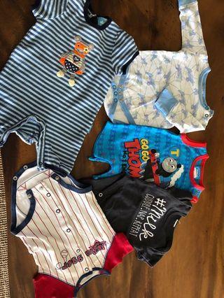 Lightly used newborn clothes bundle