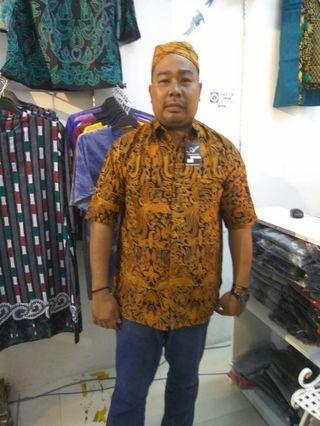Batik kemeja 6xl cotton