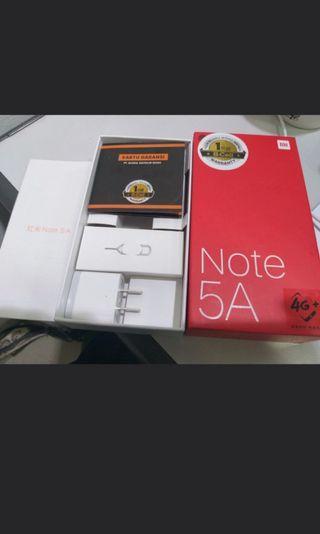 Xiaomi Note 5A (Finger Print) Preloved Mulus !