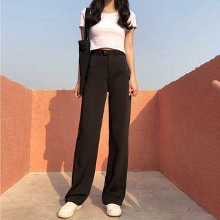 Loose Fit Highwaist Trousers