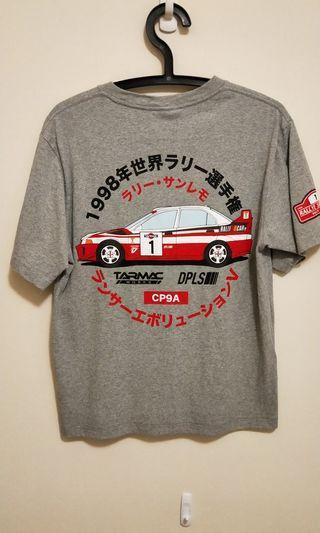 🚚 1998年拉力賽車EVO V紀念TEE