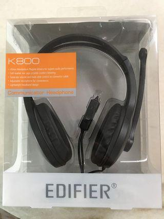 Edifier K800 - headphones for gaming and voice calls (with microphone)