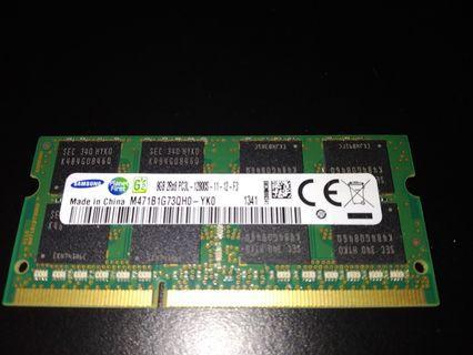 Samsung 8GB PC3L 12800S Laptop Ram