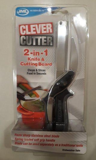 JML Clever Cutter (2 in 1 knife and cutting board)