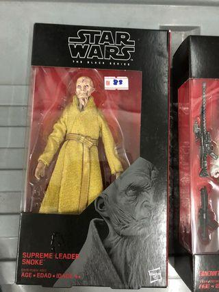 Star Wars Black Series Snoke Supreme Leader 6 Inch